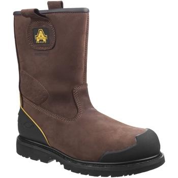 Chaussures Homme Chaussures de sécurité Amblers 223C S3 WP Marron