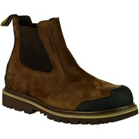 Chaussures Homme Boots Amblers 225 S3 WP Marron