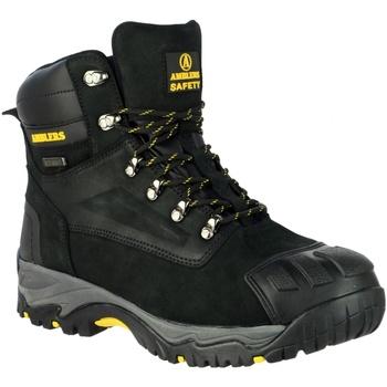 Chaussures Homme Chaussures de sécurité Amblers 987 S3 WP Noir