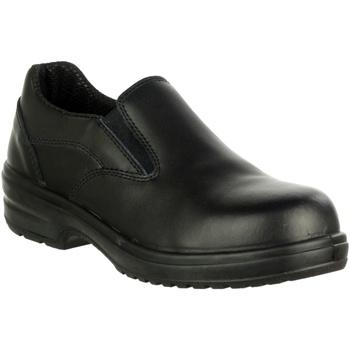 Chaussures Femme Mocassins Amblers 94C S1P Noir