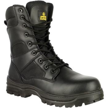 Chaussures Homme Chaussures de sécurité Amblers 009C S3 Noir