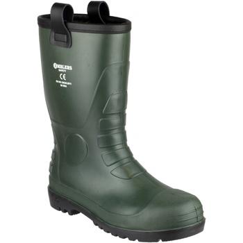 Chaussures Homme Bottes de pluie Footsure 97 GREEN PVC RIGGER Vert