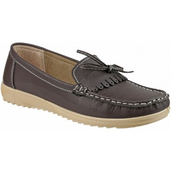 Chaussures Femme Mocassins Amblers Summer Marron
