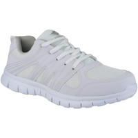 Chaussures Homme Baskets basses Mirak Milos Blanc