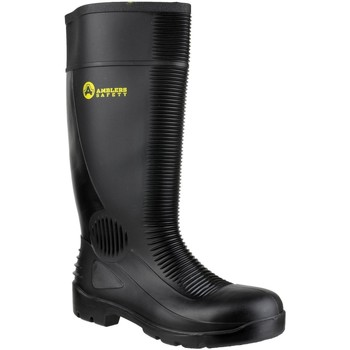 Chaussures Homme Chaussures de sécurité Amblers FS100 Safety Black Wellingtons Noir