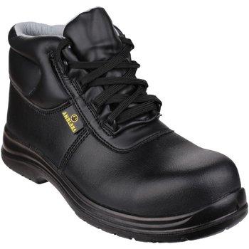 Chaussures Homme Chaussures de sécurité Amblers FS663 Safety ESD Boots Noir