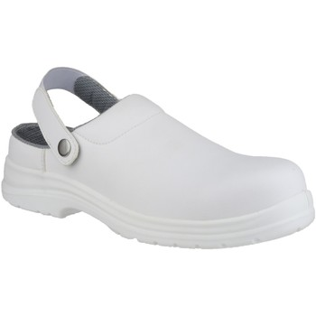 Chaussures Sabots Amblers FS512 White Safety Shoes Blanc