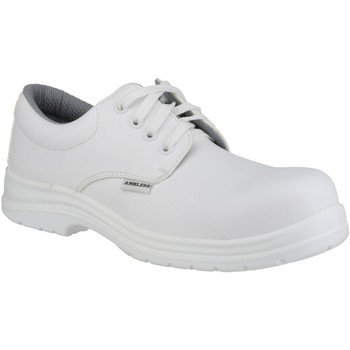 Chaussures Homme Derbies Amblers FS511 White Safety Shoes Blanc