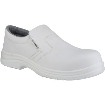 Chaussures Homme Mocassins Amblers FS510 Safety Shoes Blanc