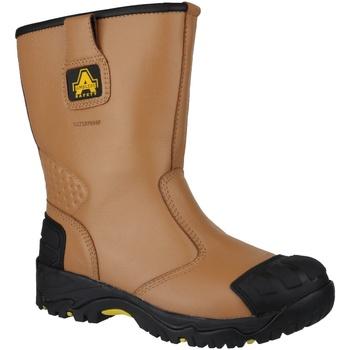 Chaussures Homme Chaussures de sécurité Amblers FS143 Marron