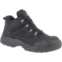Chaussures Homme Chaussures de sécurité Amblers FS151 BLACK MID BOOT SB-P Noir