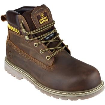 Chaussures Homme Chaussures de sécurité Amblers FS164 Safety Boots Marron