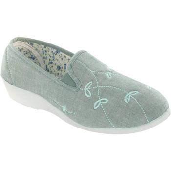 Chaussures Femme Chaussons Mirak Gusset Vert