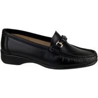 Chaussures Femme Mocassins Cotswold Barrington Noir