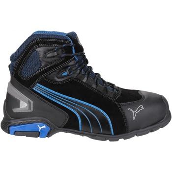 Chaussures Homme Baskets montantes Puma Rio Mid Noir