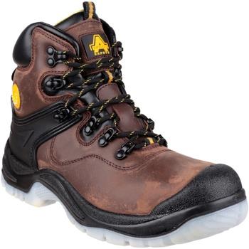 Chaussures Homme Chaussures de sécurité Amblers FS197 BROWN WATERPROOF S3 BOOT Marron