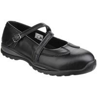 Chaussures Femme Bottes Amblers  Noir