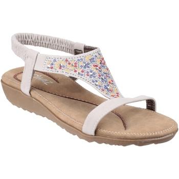 Chaussures Femme Sandales et Nu-pieds Divaz  Blanc
