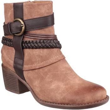 Chaussures Femme Bottines Divaz Vado Fauve