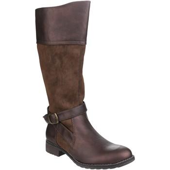 Chaussures Femme Bottes ville Divaz  Marron