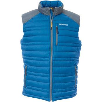 Vêtements Homme Gilets / Cardigans Caterpillar C1320012 Bleu