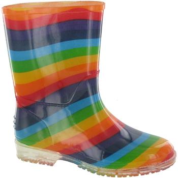 Chaussures Fille Bottes de pluie Cotswold Rainbow Multi