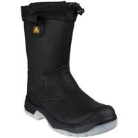 Chaussures Femme Chaussures de sécurité Amblers FS209 SAFETY Noir