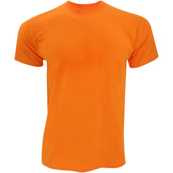 Vêtements Homme T-shirts manches courtes Fruit Of The Loom Original Orange