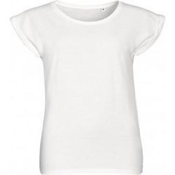 Vêtements Femme T-shirts manches courtes Sols Melba Blanc