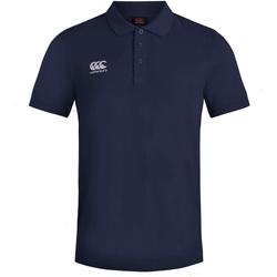 Vêtements Homme Polos manches courtes Canterbury Pique Bleu marine