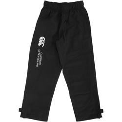 Vêtements Enfant Pantalons de survêtement Canterbury CN250B Noir