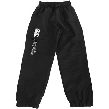 Vêtements Enfant Pantalons de survêtement Canterbury Cuffed Noir