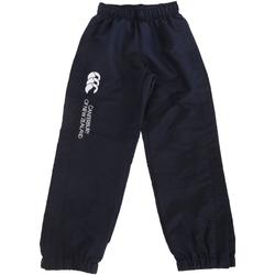 Vêtements Enfant Pantalons de survêtement Canterbury Cuffed Bleu marine