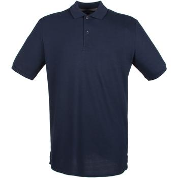 Vêtements Homme Polos manches courtes Henbury HB101 Bleu marine