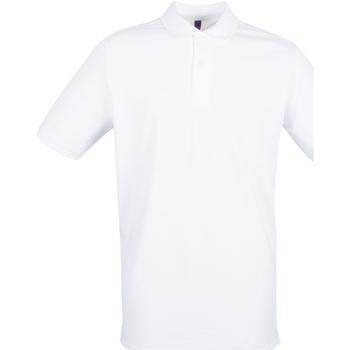 Vêtements Homme Polos manches courtes Henbury HB101 Blanc