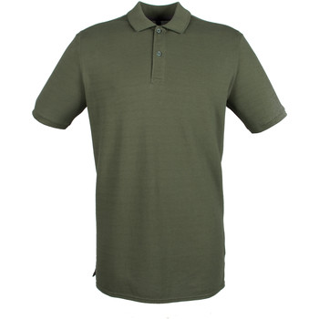 Vêtements Homme Polos manches courtes Henbury HB101 Vert Olive