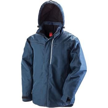 Vêtements Homme Coupes vent Result Textured Bleu marine