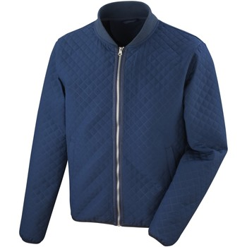 Vêtements Homme Blousons Result RS405M Bleu marine