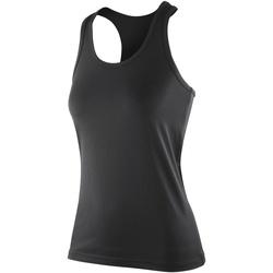 Vêtements Femme Débardeurs / T-shirts sans manche Spiro Softex Noir