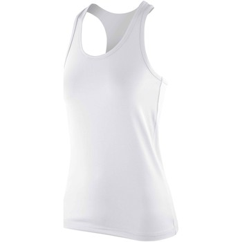 Vêtements Femme Débardeurs / T-shirts sans manche Spiro Softex Blanc