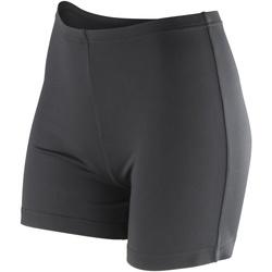 Vêtements Femme Shorts / Bermudas Spiro Softex Noir