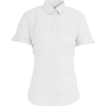 Vêtements Femme Chemises / Chemisiers Brook Taverner Poplin Blanc
