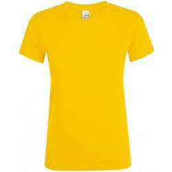 Vêtements Femme T-shirts manches courtes Sols Regent Or