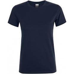 Vêtements Femme T-shirts manches courtes Sols Regent Marine