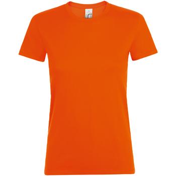 Vêtements Femme T-shirts manches courtes Sols Regent Orange
