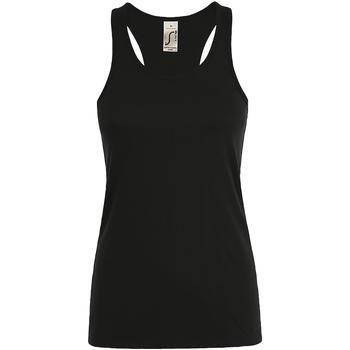 Vêtements Femme Débardeurs / T-shirts sans manche Sols Justin Noir