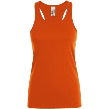 Vêtements Femme Débardeurs / T-shirts sans manche Sols Justin Orange