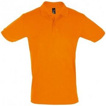 Vêtements Homme Polos manches courtes Sols Pique Orange