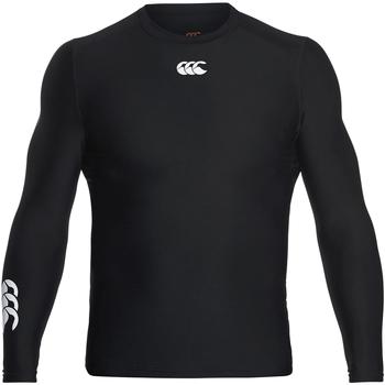 Vêtements Homme T-shirts manches longues Canterbury CN360 Noir