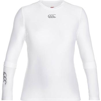 Vêtements Homme T-shirts manches longues Canterbury CN360 Blanc